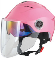 2016 Summer Helmet with dual visor cheap half face motorcycle helmet for sale