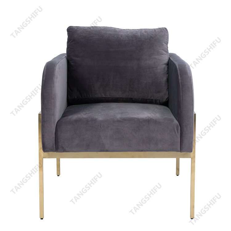 TSF-7725 living room corner modern Bayfield single seater sofa accent chair