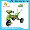 Simple small lovely model Baby tricycle with push bar Cheap children tricycle with music and light Kid's tricycle