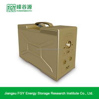 100W Lithium-ion solar battery energy storage system for home use