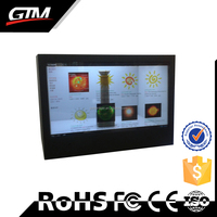 Touch Screen Smart Tv Transparent Lcd Panel All In One Monitor Wifi Linux Digital Photo Frame Transparent Lcd Showcase