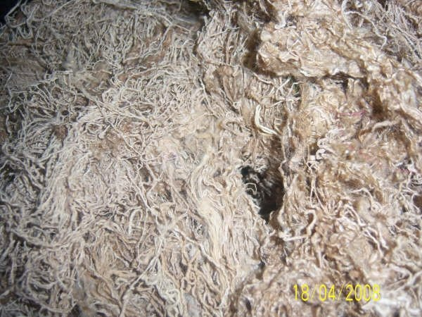 Silk Waste From India