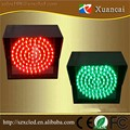 Outdoor 24V voltage high brightness LED traffic signal light with red and green color