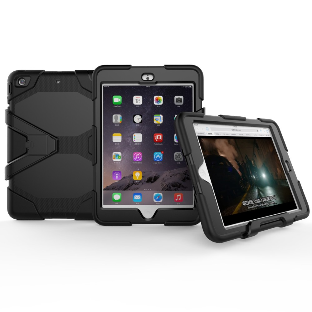 Military defender pc silicone tablet shockproof case for Ipad Mini 123