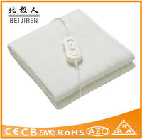 Beijiren essential line 3 heat setting single electric blanket