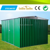 solid corrugated metal structures roofing house