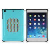 2015 New arrive tough Shockproof slim armor luxury hard plastic and TPU case for iPad mini / iPad mini 2
