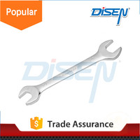 double bent open end wrench spanner set