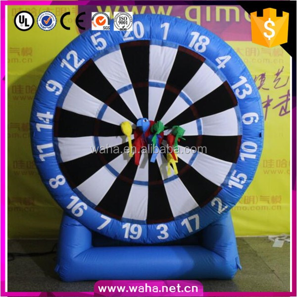 high quality inflatable dart board, inflatable dart game, funny inflatable dartboard