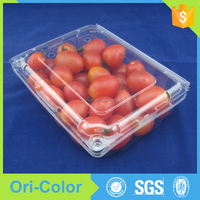 Plastic display food fruit packaging box