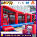 wipeout interactive inflatable inflatable big baller games tumble alley