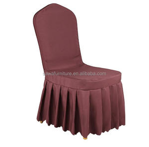 Factory Wholesale Wedding Banquet Hotel skirt chair cover