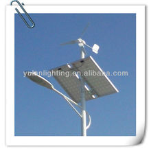 Solar and Vertical Wind Turbine, Hybrid Street Light, Display Enterprises Social Responsibility