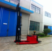 Warehouse Lifting Equipment Electric Pallet Truck Stacker 1t capacity electric stacker forklift