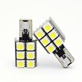 Hot sale T10 car led reading light canbus 5050 6smd auto luggage light door light for bmw toyota Buick offroad suv atv