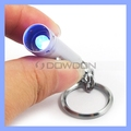 Mini LED UV Flashlight Detector Money Checker Keychain Metal