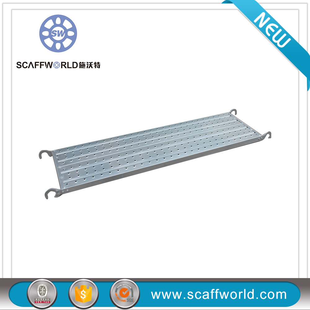 Import construction metal scaffold plank hooks from china used steel scaffolding catwalk ladder for sale