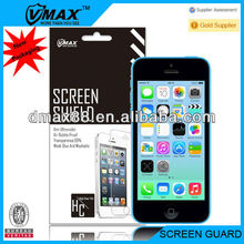 For iPhone 5c screen protection oem/odm (High Clear)