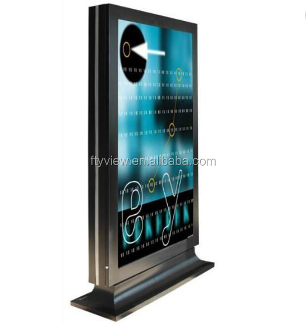 Factory price! 55 inch outdoor LCD advertising kiosk, advertising equipment,outdoor LCD