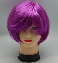 cheap football fans wig,party wig,crazy wig high quality mens hair wigs