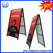 iron steel inserted poster display case,outdoor metal sign frames H25