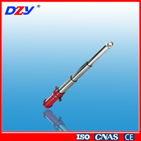 China standard cheap 3-stage telescopic hydraulic cylinders ram floor jack for lift truck