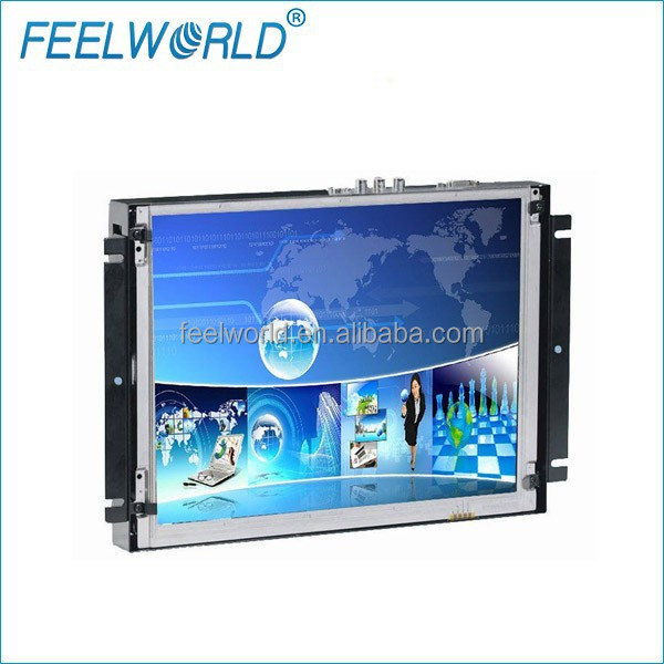 12.1 inch tft touch sreen monitor lcd tv advertising display with hdmi input
