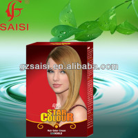 SAISI new formula natural essence tri color hair color