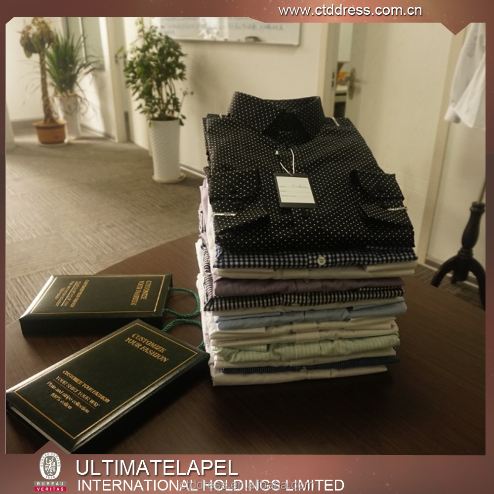 made to measure custom tailored dress shirts made in china