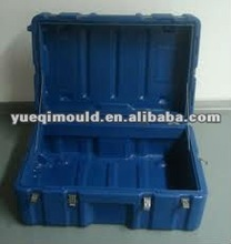 rotational plastic tool case for transport