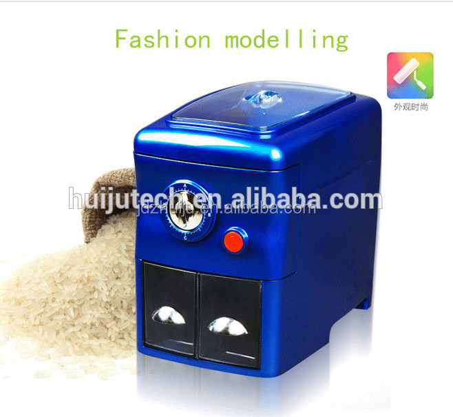 This is the rice mill you wanted 500g/h perfect husking yield mini rice mill machinery price best HJ-P10