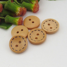 Accessories Button dashed two wooden buttons Accessories