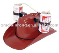 Fashion Plastic Cowboy Beer drinking hat