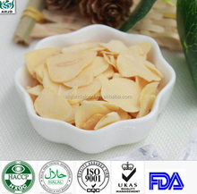 Cheapest freeze dried garlic/instant vegetables/HACCP Certificated freeze dried garlic flakes for retaurant