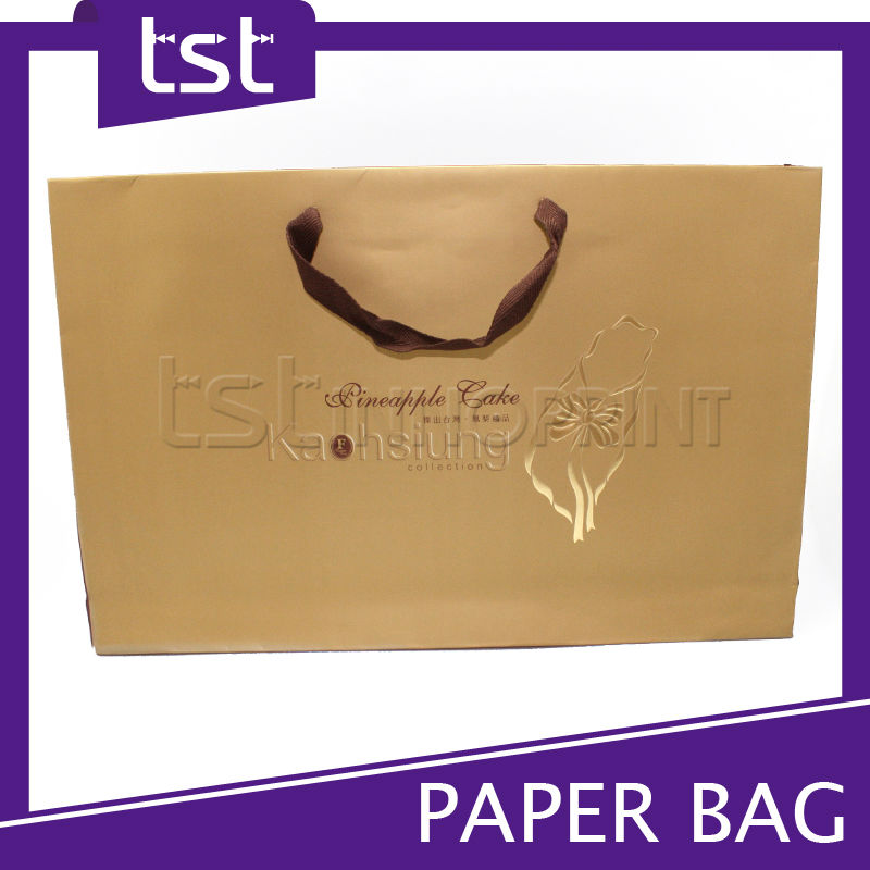 Taiwan Wholesale Custom Printed Paper Shopping Bag