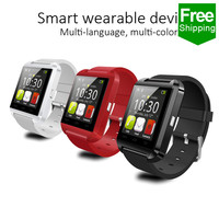 2015 New Wearable U8 Sport Watch With Pedometer, Latest Price Of Smart Watch Phone