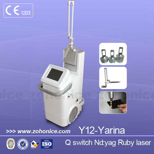 new q switch nd yag laser handle for tattoo removal system