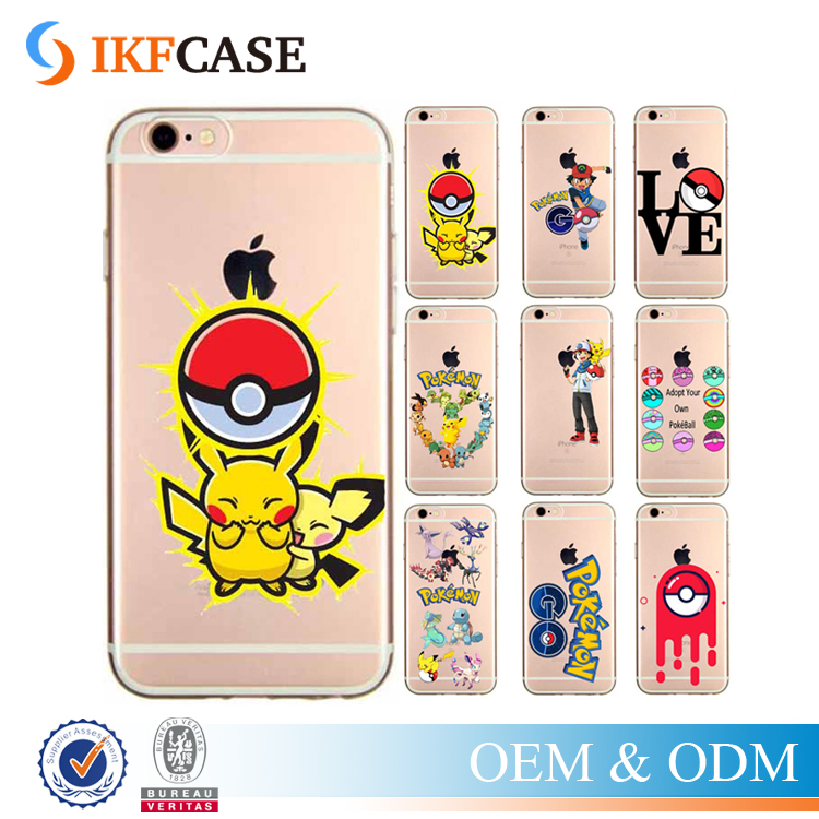 Phone Cases Pokemons Go Pokeball Transparent Clear Case Cover For Samsung Galaxy Note 5 Edge/A9