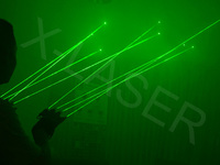 2014 Factory direct price!green Dance Laser Glove For Disco/Party/Stage Supplies