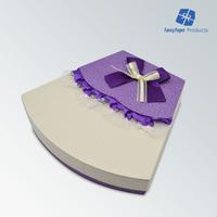 Manufacture Sector Lace Top Dress Design Valentine Day Rigid Box Chocolate Paper Box