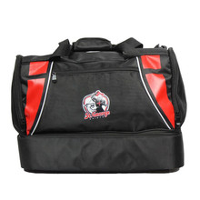 2015 cheap popular durable fancy travel duffel bag with shoe compartment