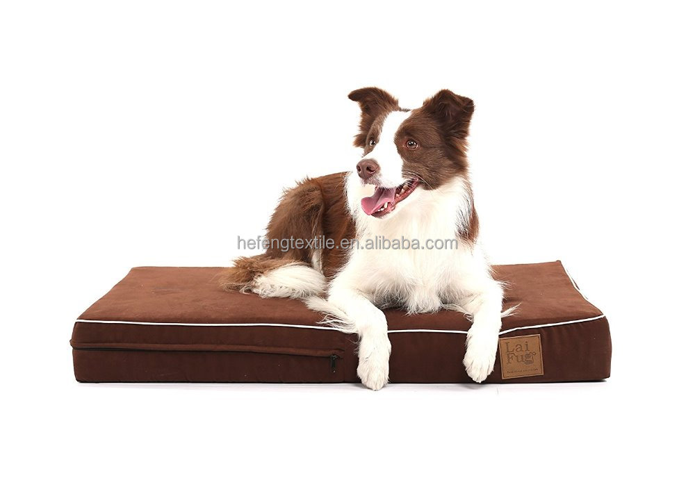 LaiFug 45DHI Premium Memory Foam Orthopedic Pet/Dog Bed