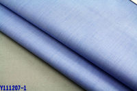 polyester terylene cotton TC shirting trousers garment fabric fil a fil poplin yarn dyeing woven