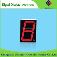 1.5 inch led display indoor led display one digit 7 segment led