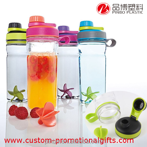 600ml sport plastic water bottle,blender protein shaker water bottle