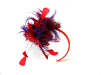 Fashion Christmas Feather Headband