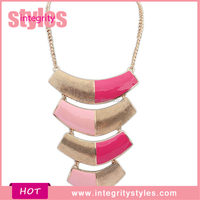Selling Novelty Fancy Simple Gold Pendant Design Necklace