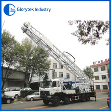 Hot Sale in South America! Water Bore Hole Drilling Machine on Truck