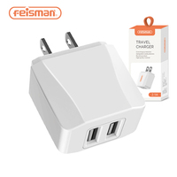 Feisman Dual Ports 20W Fast USB Power Adapter Wall Charger for Samsung S10 S10+