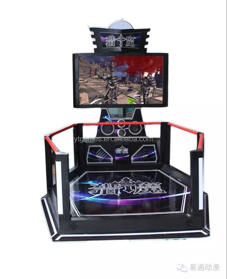 2016 Newest products 9D VR Walker Standing High Revenue Shooting Simulator for Sale